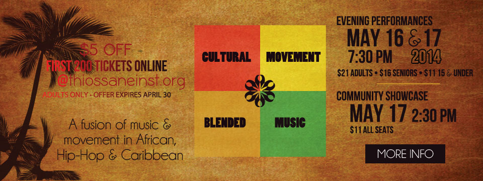 Cultural Movement Blended Music! Coming May 16-17