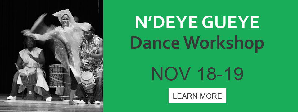 Senegalese Dance Workshop