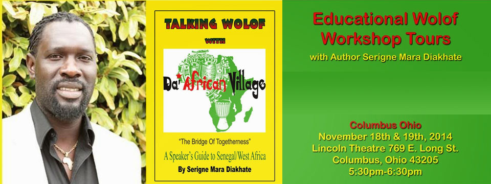 West African Language class with Serigne Mara Diakhate'